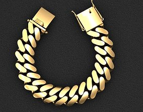 18 MM MIAMI CUBAN LINK CHAIN FOR 3D printable model 2