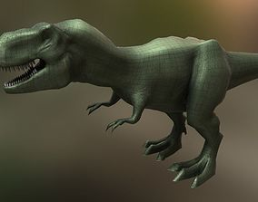 3D asset Tyrannosaurus Rex