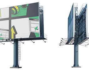 Billboard 3D street