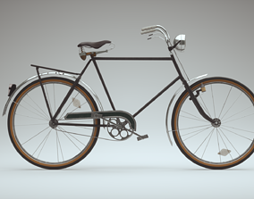 3D PBR Bicycle