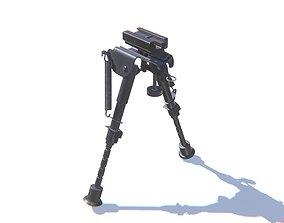 3D asset Rifle Bipods