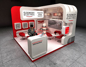 3D exhibition stand trade