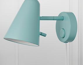 3D model FUBBLA LED Wall Lamp Ikea 3 Colors