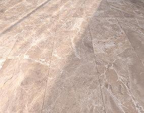 3D Marble Floor Alpha Beige Set 1