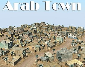 3D model Arab Town