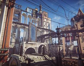 3D model Steam City