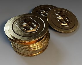 3D model Doubloon from World of Warships