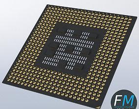 3D CPU chip