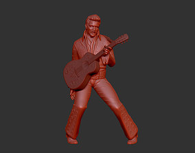 Elvis Presley 3D print model
