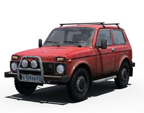 VAZ -2121 Niva 3D model