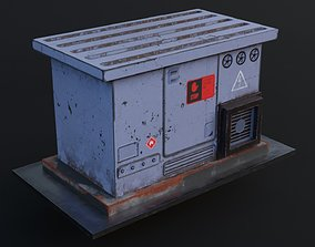 Electrical Box - Transformer Game Ready Low realtime 2