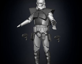 3D print model ARC Clone Trooper Armor Accessories
