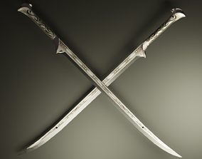 Thranduil sword 3D model