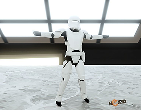 StarWars Flame Trooper 3D Printable Costume
