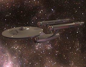 3D model USS Enterprise NCC-1701