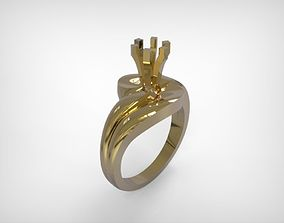 3D print model Jewelry Golden Engagement Type Ring
