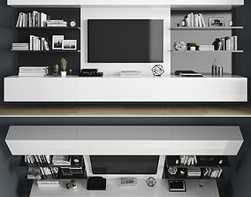 furniture Tv stand 3D model game-ready