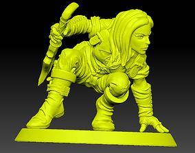 Human Female Rogue 3D print model