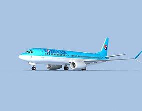 3D Boeing 737-800 Max Korean Air