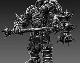3D Orc in Pose