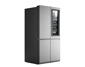 SIGNATURE LG LSR100RU Refrigerator 3D model for