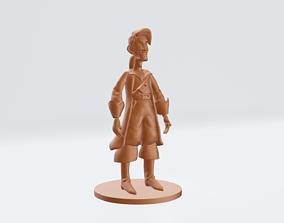 Guybrush Threepwood Mighty Pirate 3D printable model