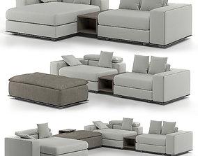 3D Fendi Casa Belt Tight Sofa