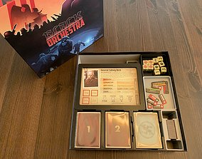 3D print model Black Orchestra Board Game Organizer