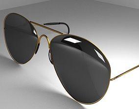 3D model Sunglasses Darked