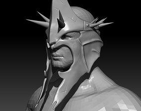 Witch King Helmet Mask 3D printable model