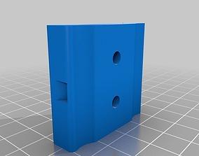 Unistrut Zip Tie Holder 3D printable model