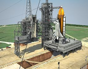 NASA Kennedy Space Center 39B 3D model