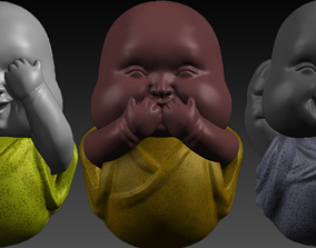 Cute Baby Buddha 3D print model
