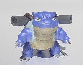 toy 3D print model Blastoise