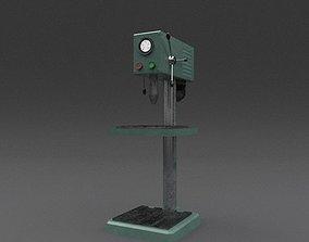 Machine 01 3D asset