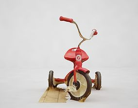 present 3D model Tricycle