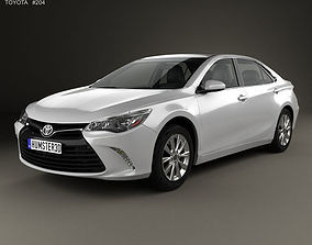 3D Toyota Camry XLE 2015