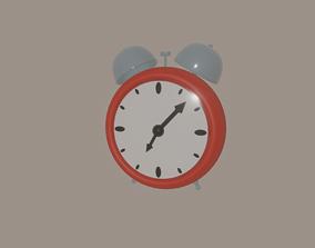 Alarm Clock 3D model rigged