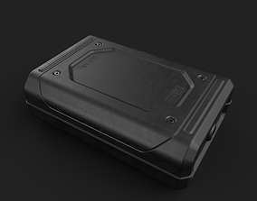 Sci-Fi Box-04 3D model