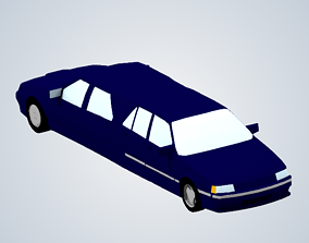 James Mays limo Top Gear 3D print model