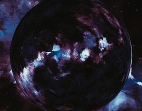 3D model Nebula Space Environment HDRI Map 024