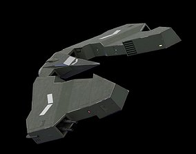 Space Ship 3D asset VR / AR ready