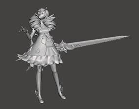 Gwen 3D Model