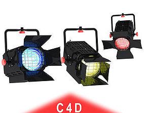 3D model Studio Light Gobo filter