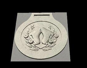 Roller Skate Medal 3D printable model