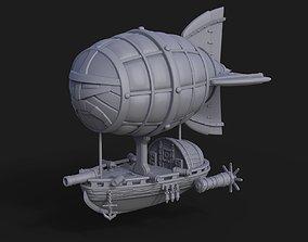 Dwarf Flying Zeppelin Miniature 3D print model