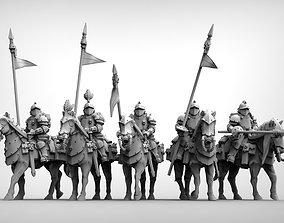 Feudal Guard Shock Cavalry sci 3D print model