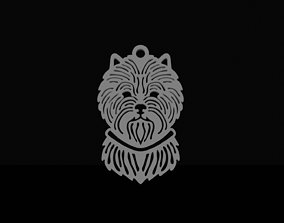 3D print model Cairn terrier pendant