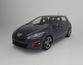 3D model PEUGEOT 308