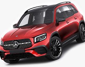 3D Mercedes-Benz GLB 2020 AMG line